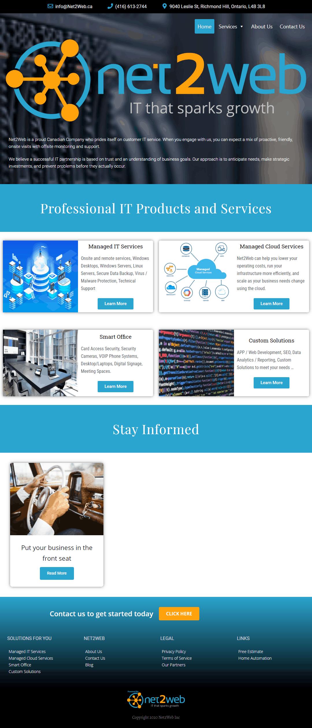 Net2Web Inc